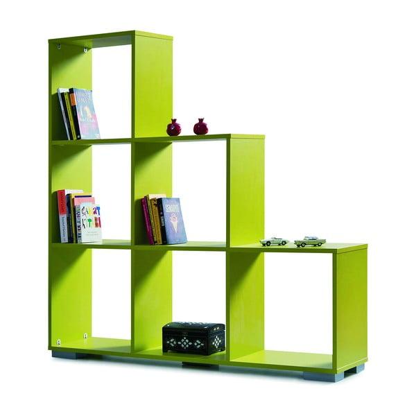 Knihovna Decolour, zelená