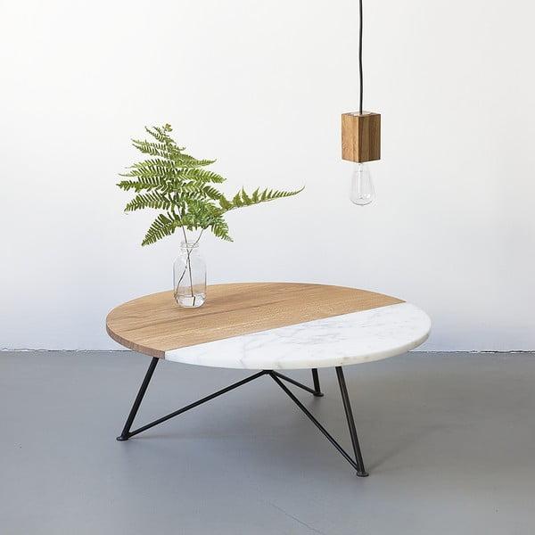 Konferenční stolek NUTSANDWOODS Marbledip
