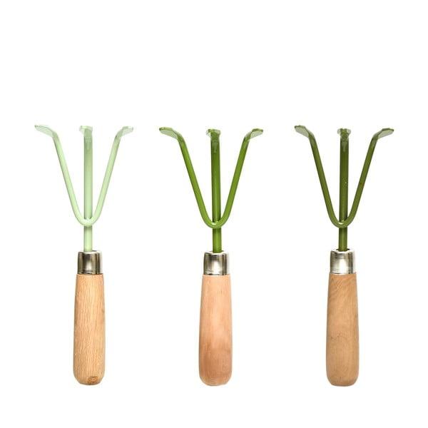 Sada 3 zahradných hrabličiek na kyprenie Ego Dekor
