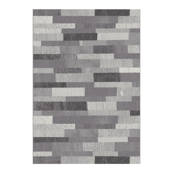 Šedý koberec Universal Adra Grey, 115x160cm