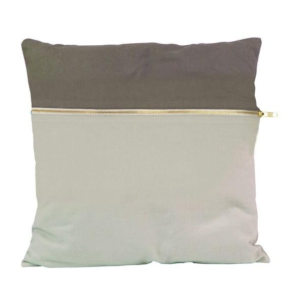 Polštář Present Time Duo Grey, 45x45 cm