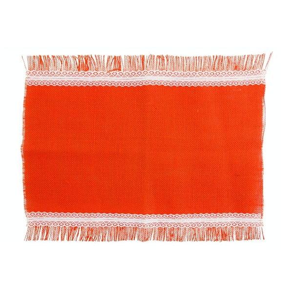 Jutové prostírání Arancio, 30x45 cm