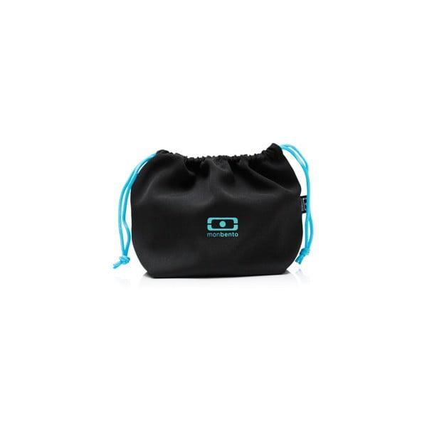 Kapsa na svačinový box Monbento Black/Blue