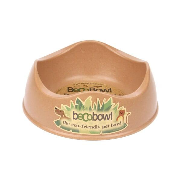 Psí/kočičí miska Beco Bowl 21 cm, hnědá