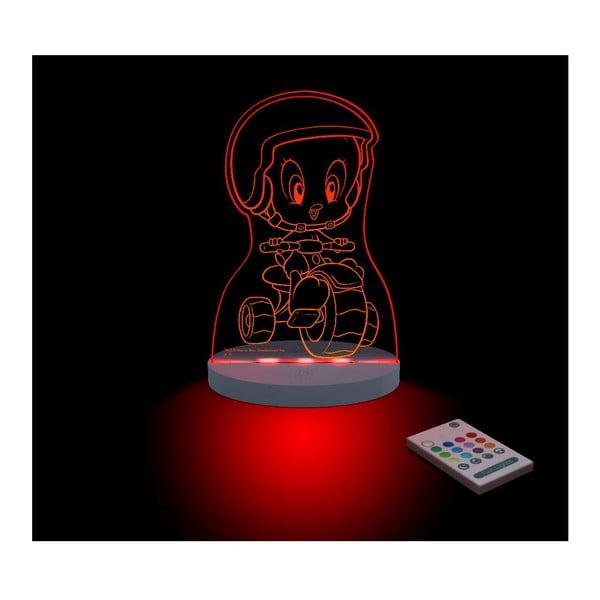 Dětské LED noční světýlko Tweety Moto