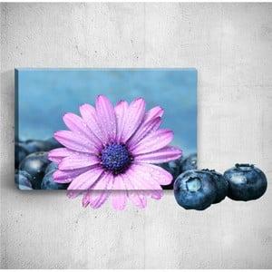 Nástěnný 3D obraz Mosticx Flower With Berries, 40 x 60 cm