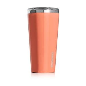 Oranžový cestovní termohrnek Corkcicle Tumbler, 260 ml