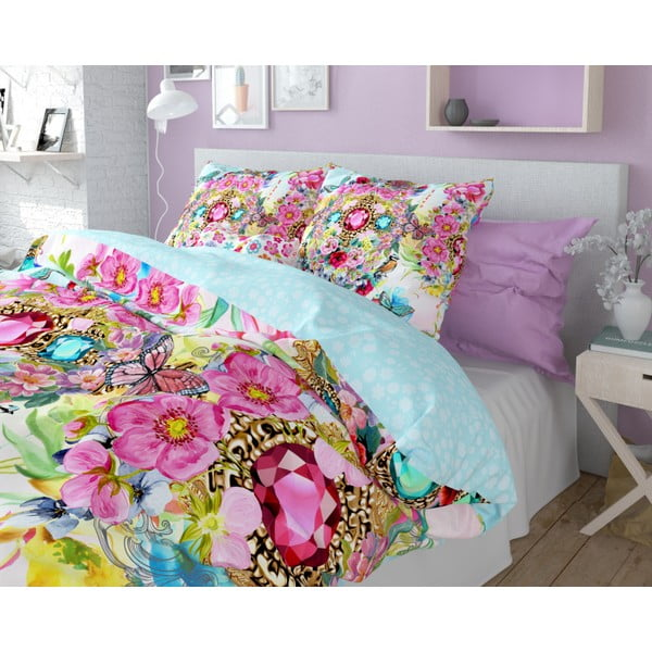Lenjerie de pat din bumbac Dreamhouse So Cute Faith, 240 x 220 cm