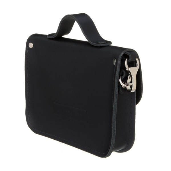 Kožená menší kabelka Alton Black