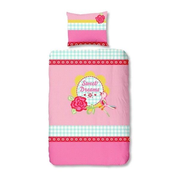 Dětské povlečení Sweet Dreams Light Pink, 140x200cm