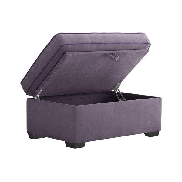 Trojdílná sedací souprava Jalouse Maison Serena, fialová