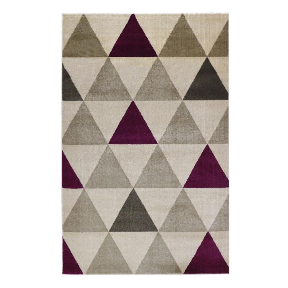 Béžový koberec Webtappeti Roma Violet,80x150cm
