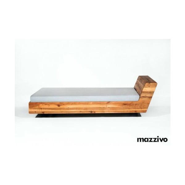 Postel Mazzivo Lugo z olšového dřeva Mazzivo Lugo, 180x200cm