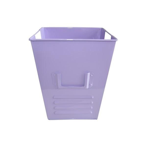 Plechový koš Waterquest 25x30 cm, pastelově fialový