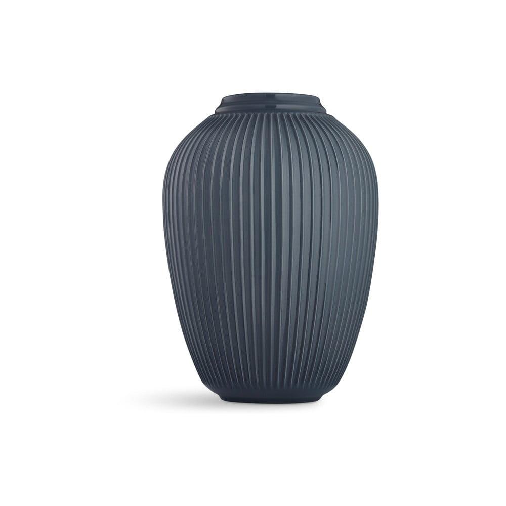 Antracitová volně stojící kameninová váza Kähler Design Hammershoi, výška 50 cm