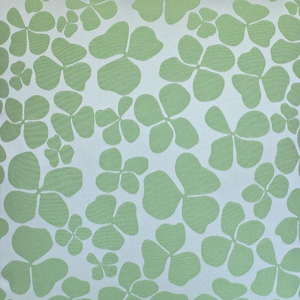Polštář s výplní Dark Green Flowers, 50x50 cm