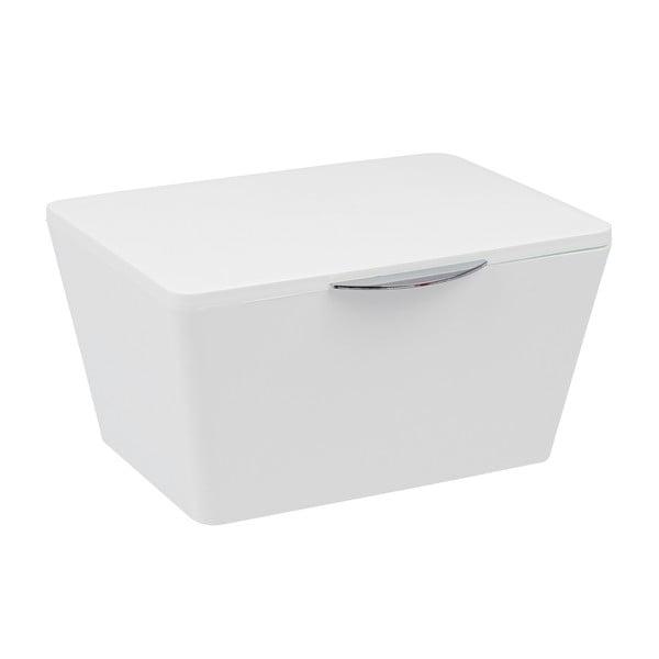 Bílý koupelnový box Wenko Brasil