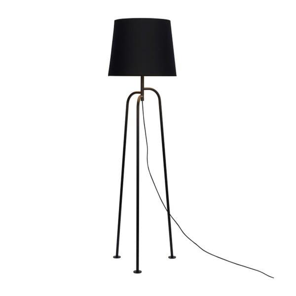 Černá volně stojící lampa Garageeight Jay