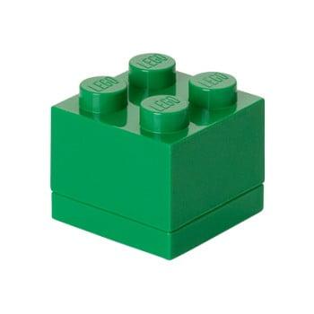 Cutie depozitare LEGO® Mini Box Green, verde de la LEGO®