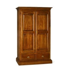 Șifonier din lemn cu 2 uși Castagnetti Noce