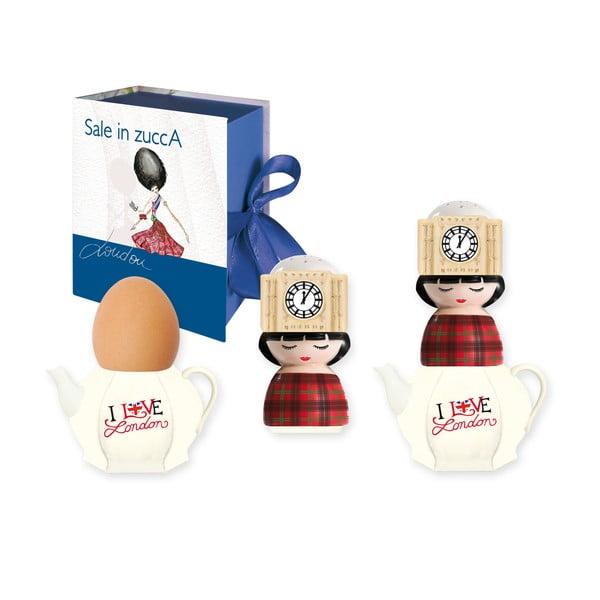 Kalíšek na vejce a slánka UK