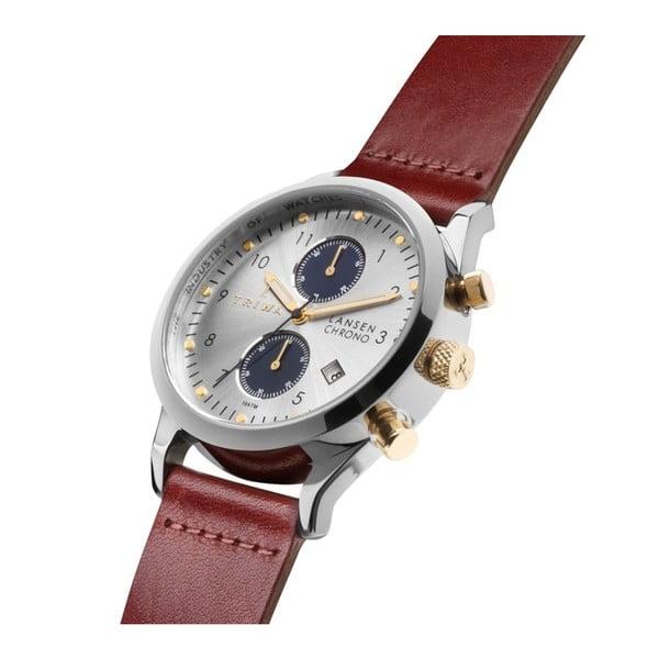 Unisex hodinky s koženým řemínkem Triwa Loch Lansen