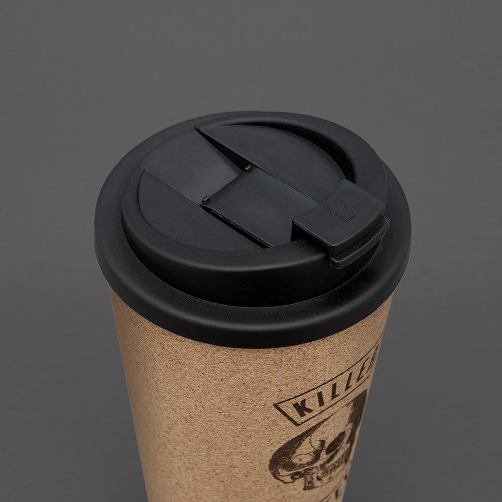 Korkový hrnek na kávu Luckies of London Killer Coffee