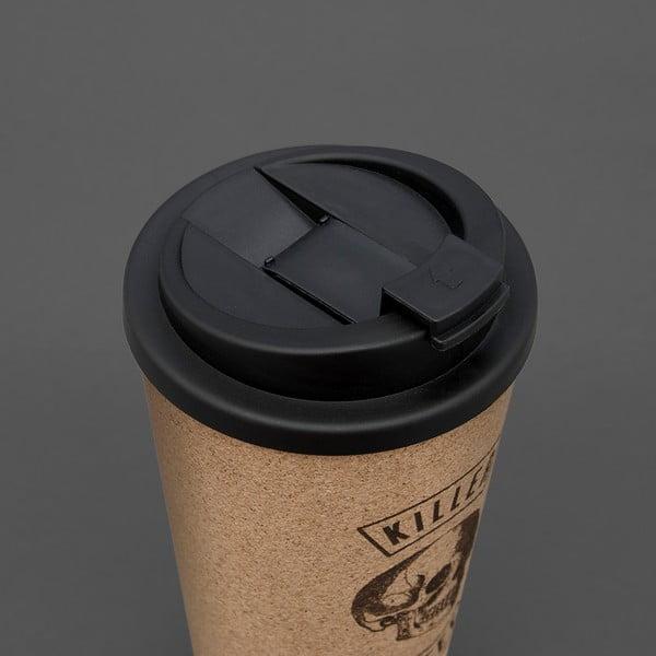 Korkový hrnček na kávu Luckies of London Killer Coffee