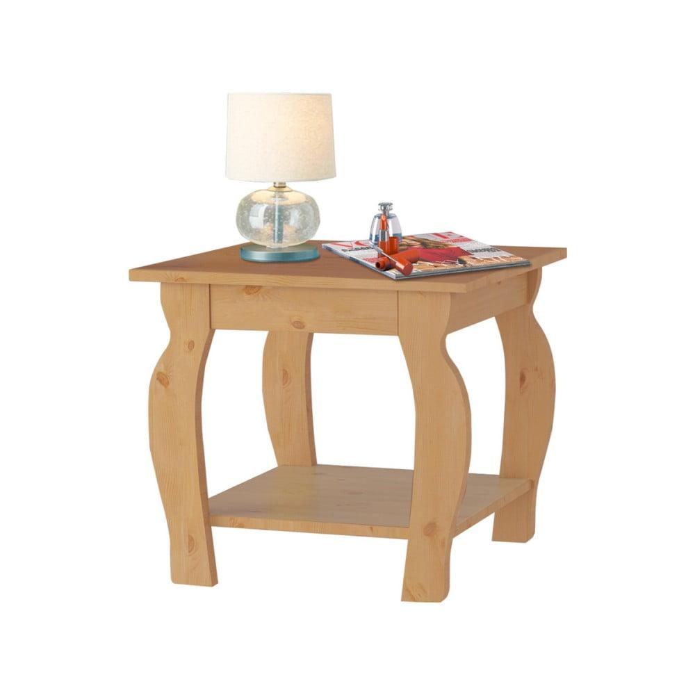 Odkládací stolek z borovicového dřeva Støraa Maria
