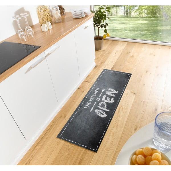 Šedý kuchyňský běhoun Zala Living OpenKitchen, 50x150cm