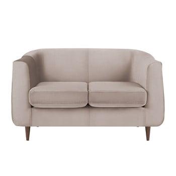 Canapea cu 2 locuri Kooko Home GLAM, bej imagine
