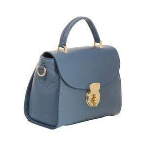Geantă din piele naturală Andrea Cardone Elegant, albastru