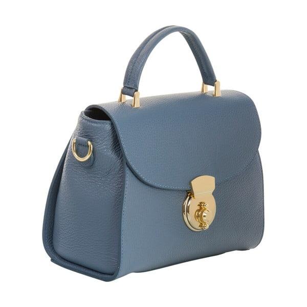 Modrá kabelka z pravé kůže Andrea Cardone Elegant
