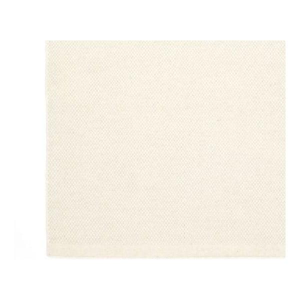 Vlněný koberec Bombay, 140x200 cm, bílý
