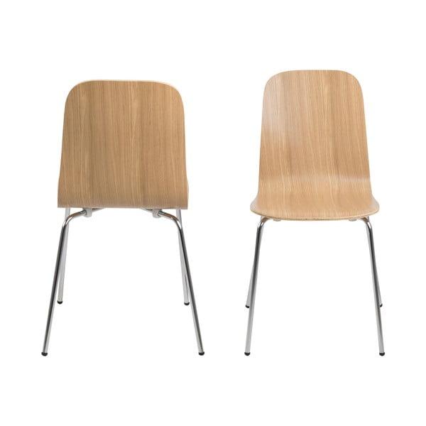 Jídelní židle Bjoorn, dekor dubu