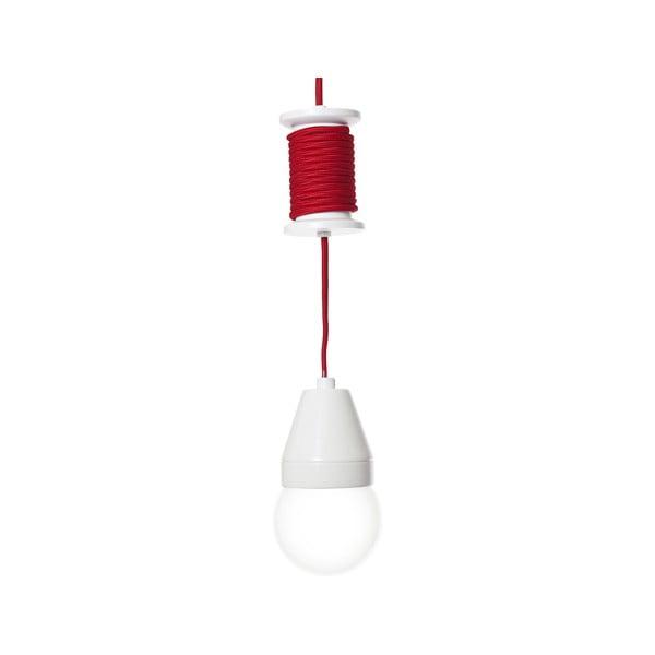 Červené stropní světlo Spool