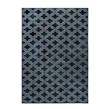 Covor White Label Feike, 160 x 230 cm, albastru închis de la White Label