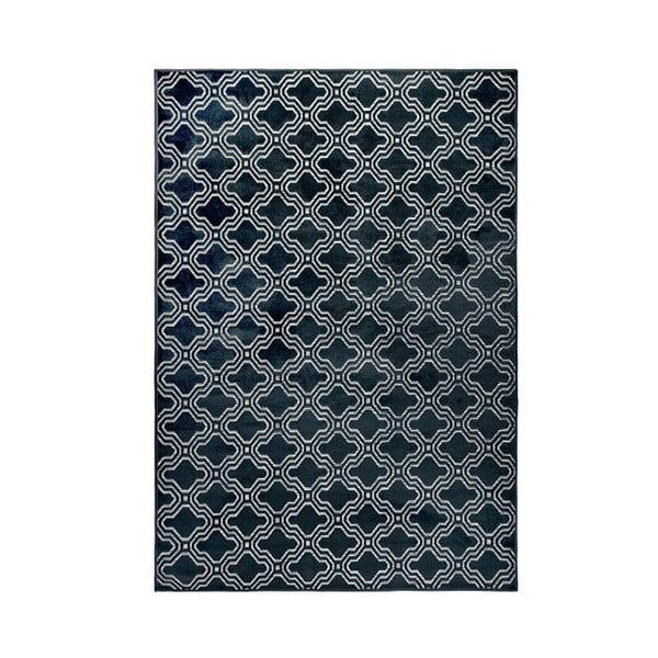 Covor White Label Feike, 160 x 230 cm, albastru închis