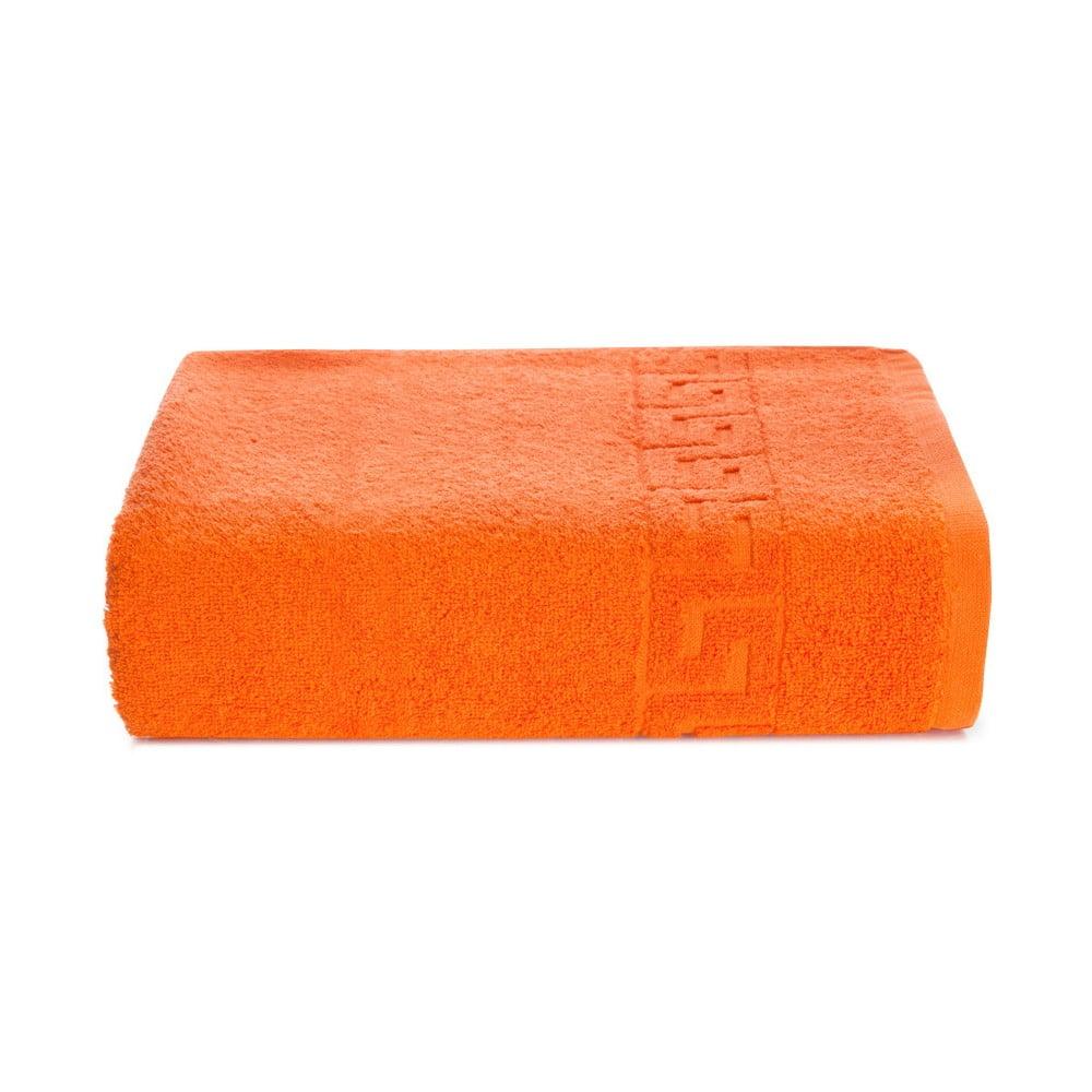 Oranžový bavlněný ručník Kate Louise Pauline, 50 x 90 cm