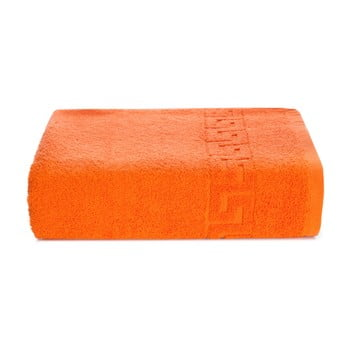 Prosop bumbac Kate Louise Pauline,50x90cm, portocaliu imagine