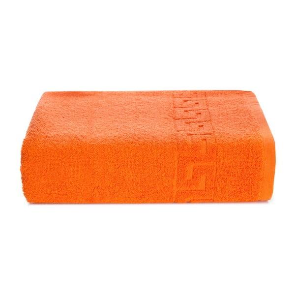 Oranžový bavlněný ručník Kate Louise Pauline,50x90cm