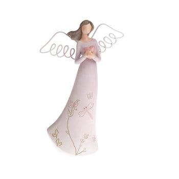 Decorațiune în formă de înger Dakls Angel, înălțime 21 cm