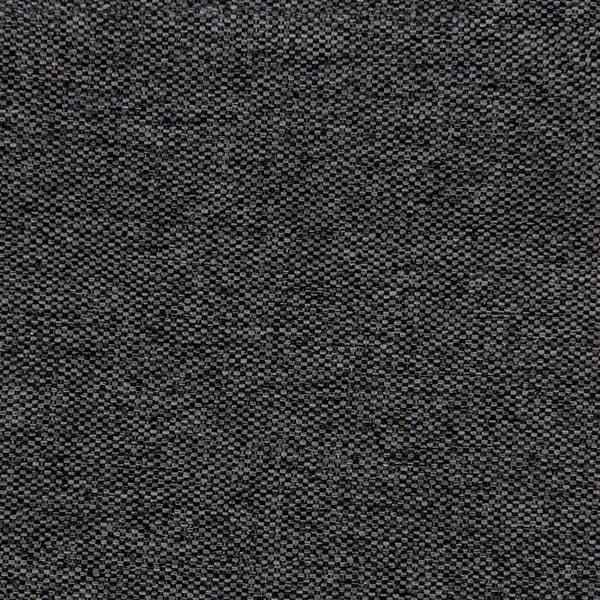 Tmavě šedá postel s černými nohami Vivonita Windsor,140x200cm