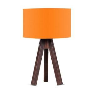 Stolní lampa s oranžovým stínítkem Kate Louise Kahve
