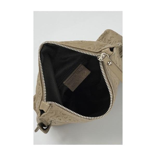 Kožená kabelka Giorgio Costa 15006 Taupe