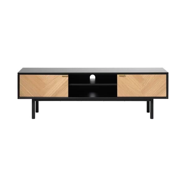 Calvi TV-állvány tölgyfa dekorral - Unique Furniture