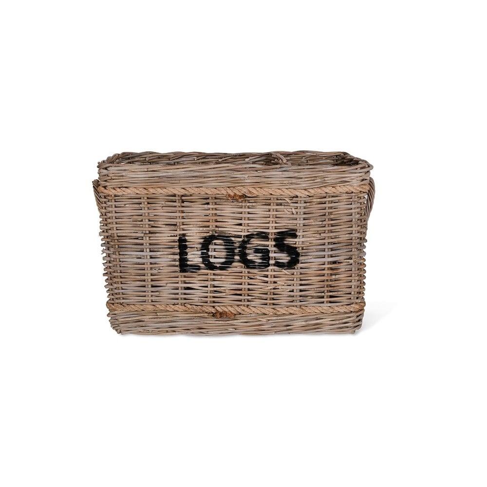 Ratanový koš na dřevo Garden Trading Log