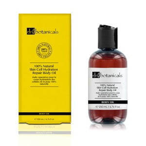 Vyživující tělový olej Dr.Botanicals Natural Skin Cell Hydration Repair, 200ml
