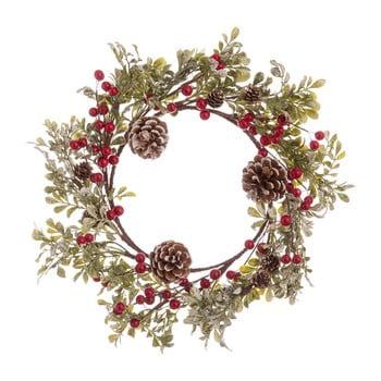 Coroniță pentru Crăciun cu conuri Unimasa Snowy, ø 40 cm imagine