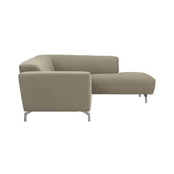 Rohová pohovka v přírodní barvě Windsor & Co Sofas Orion, pravý roh